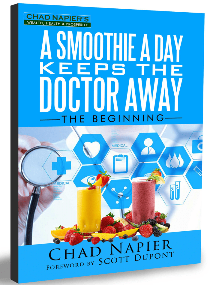 3d book cover of a smoothie a day keeps the doctor away 2nd edition