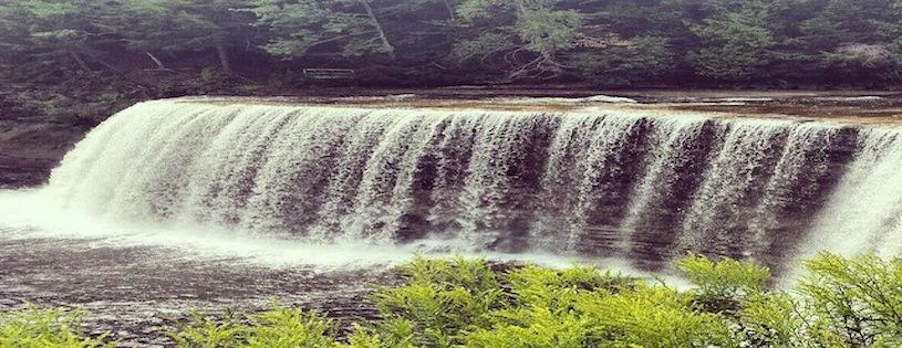 Banner Waterfall
