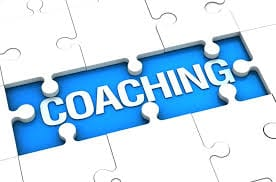 picture of a puzzle saying coaching