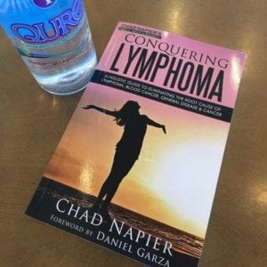 picture of the conquering lymphoma book
