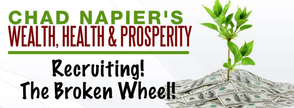 banner picture of Recruiting the broken wheel