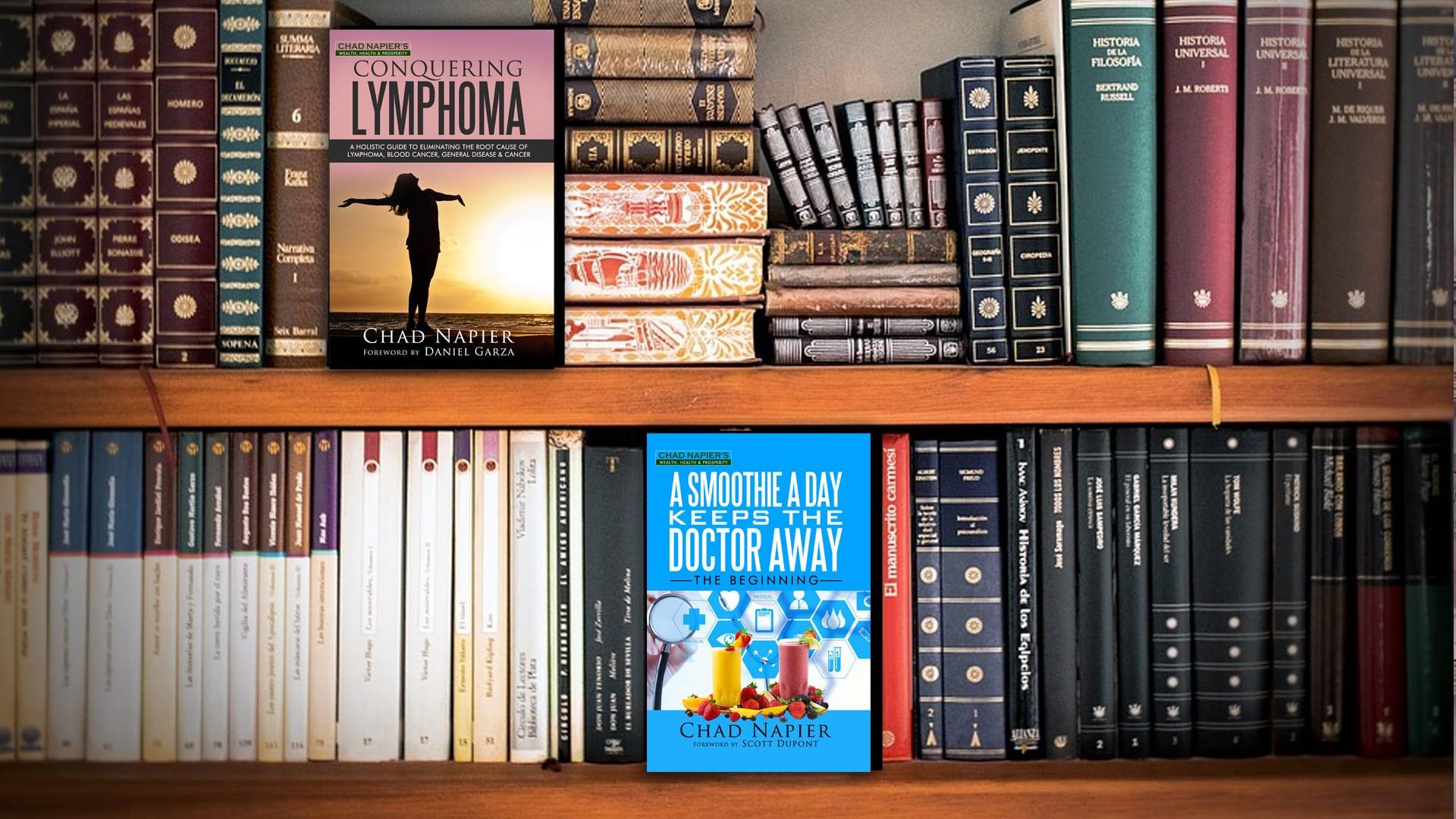 picture of a book shelf