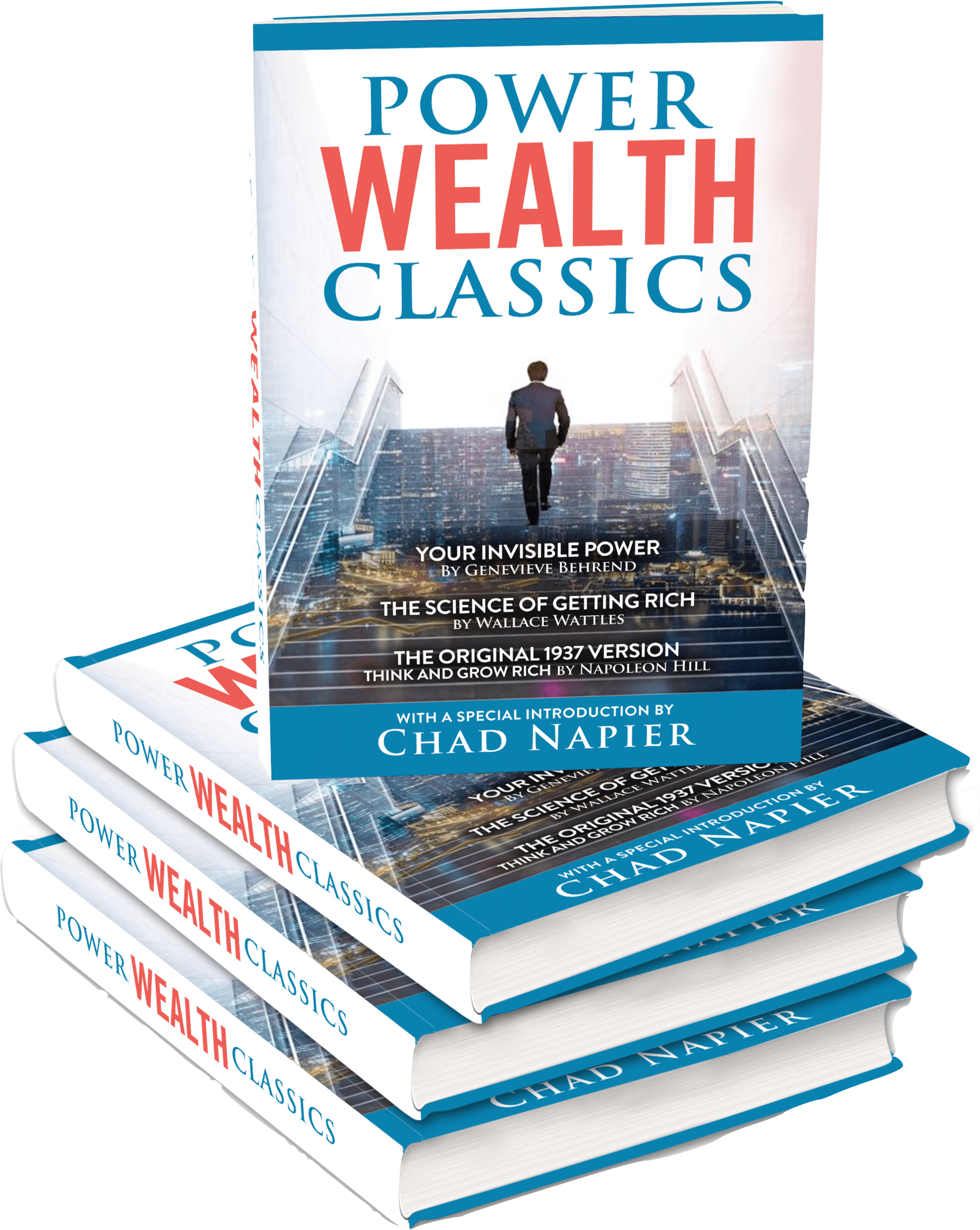 picture of power wealth classics 3d book cover